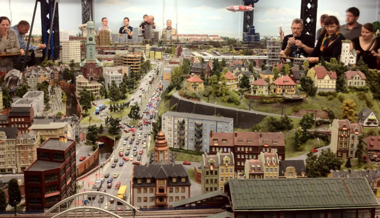 Миниатюрная страна чудес в Гамбурге