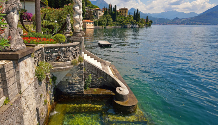 Итальянское озеро Комо