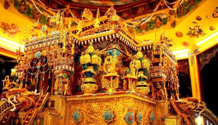 Историческая столица Тибета