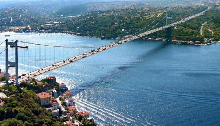 3. Пролив Босфор в Стамбуле
