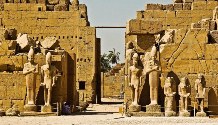 Луксорский храм Египет