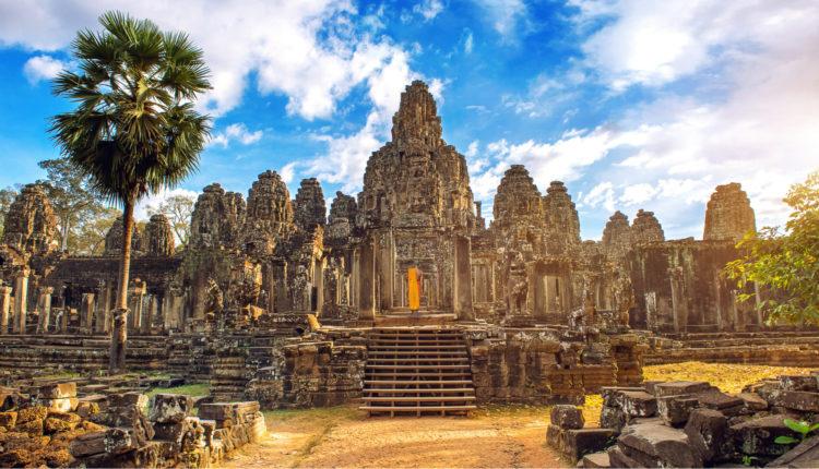 Bayon Temple, Angkor Wat, Siam Reap, Cambodia