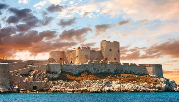 Замок Иф марсель
