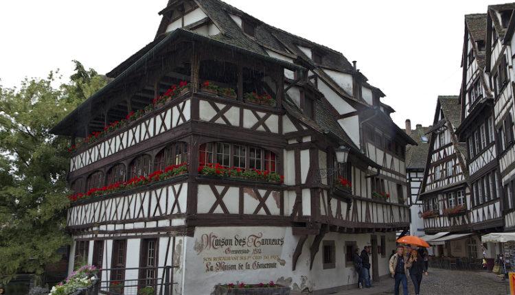 Маленькая Франция и Дом кожевников Страсбург