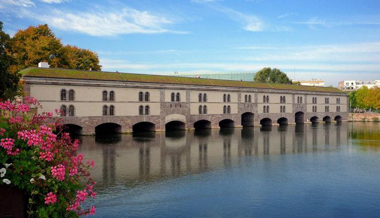 Плотина Вобана и крытые мосты Страсбург