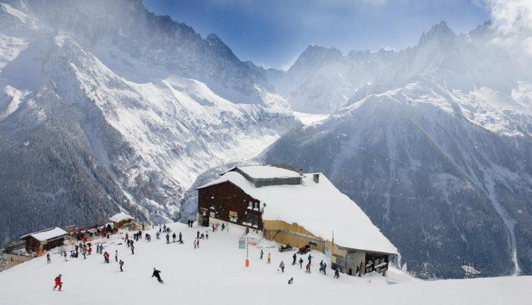 Шамони горнолыжный курорт
