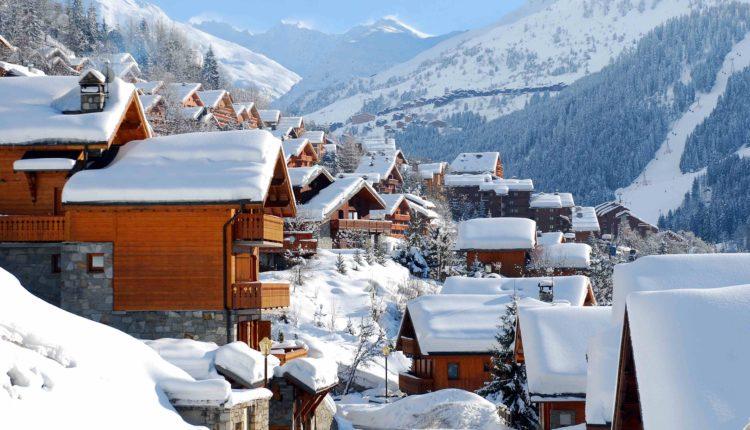 мерибель горнолыжный курорт