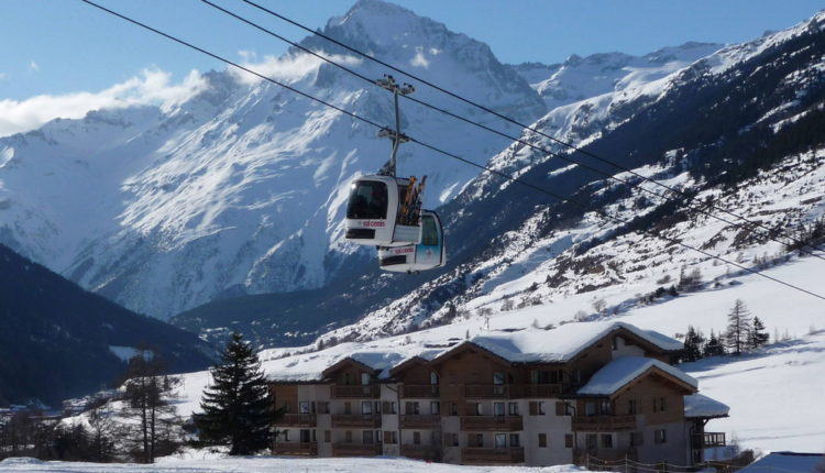 Брид-ле-Бен горнолыжный курорт