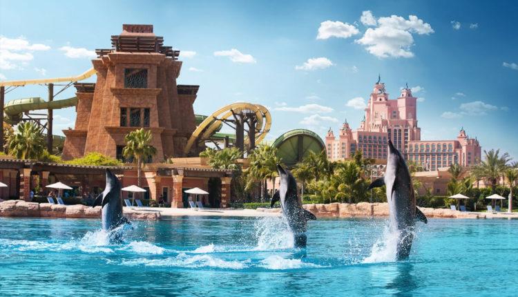 Аквапарк Aquaventure в Дубае