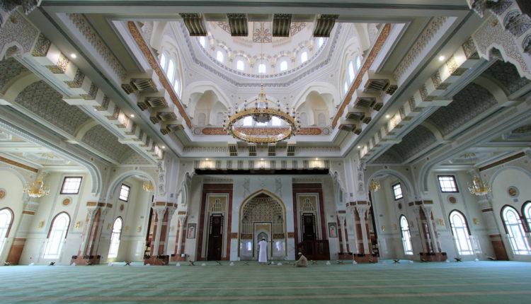 мечеть джумейра внутри